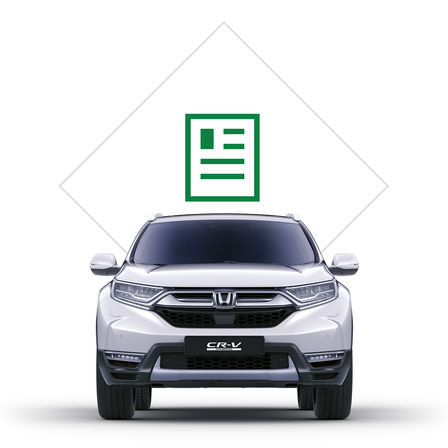 Pictogram brochure Honda CR-V Hybrid.