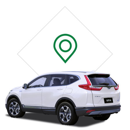 Pictogram dealer Honda CR-V Hybrid.
