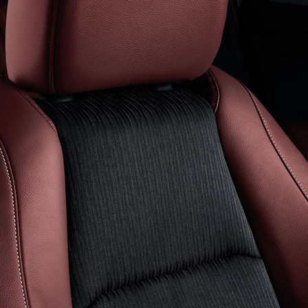 Close-up van stoelen Honda HR-V Sport.