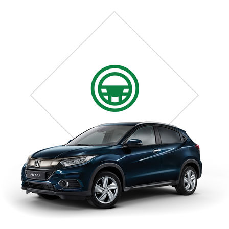 Honda HR-V illustratie brochure.