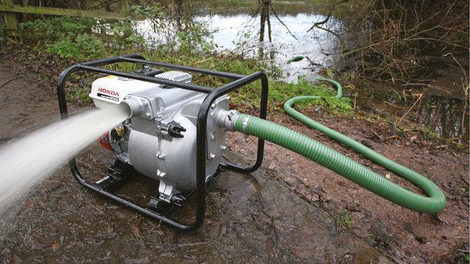 overzicht � vuilwaterpompen � waterpompen � industrie � honda