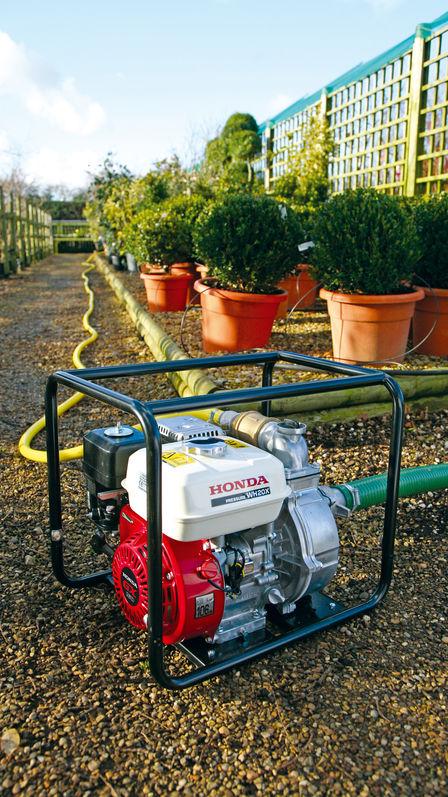 overzicht � hogedrukpompen � waterpompen � industrie � honda