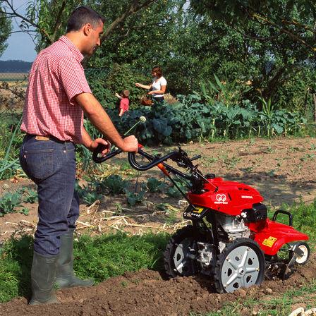 Overzicht – Roterende tuinfrezen – Tuinfrezen – Tuin & Gazon – Honda