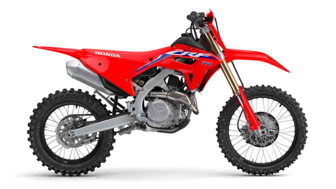 CRF450RX, right side.