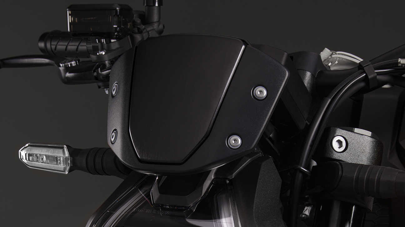 CB1000R Black Edition, windscherm