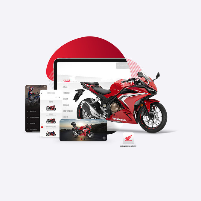 Honda Motorcycles Europe app